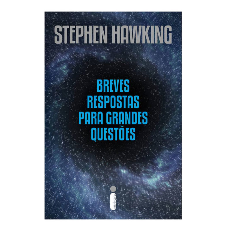 Livro Breves Respostas para Grandes Questões - Stephen Hawking
