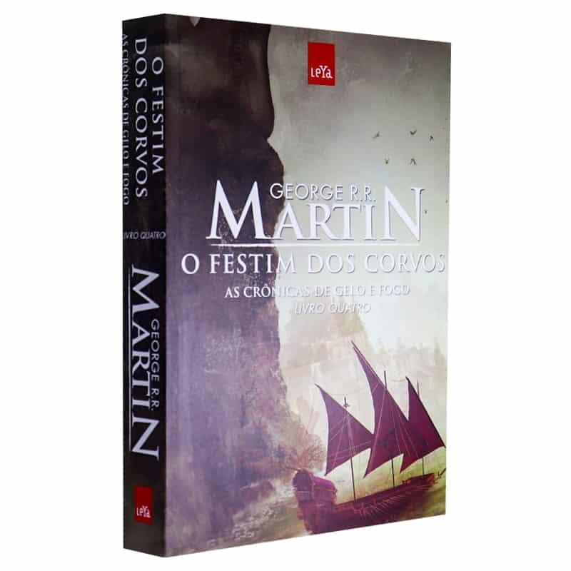 Livro O Festim dos Corvos: As Crônicas de Gelo e Fogo - Volume 4 - George R.R. Martin