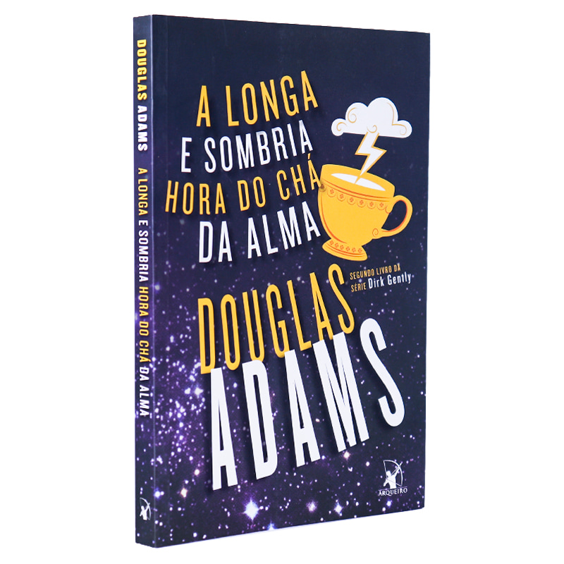 Livro A Longa e Sombria Hora do Chá da Alma - Douglas Adams