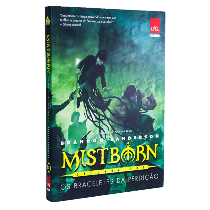 Livro Mistborn: Segunda Era: Os Braceletes da Perdição - Volume 3 - Brandon Sanderson