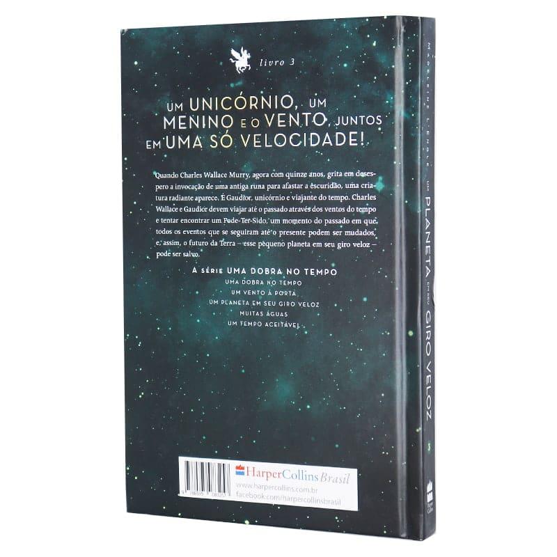 Livro Um Planeta Em Seu Giro Veloz - Livro 3 - Madeleine L'Engle