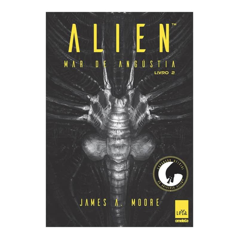 Livro Alien: Mar de Angústia - Volume 2 - James A. Moore