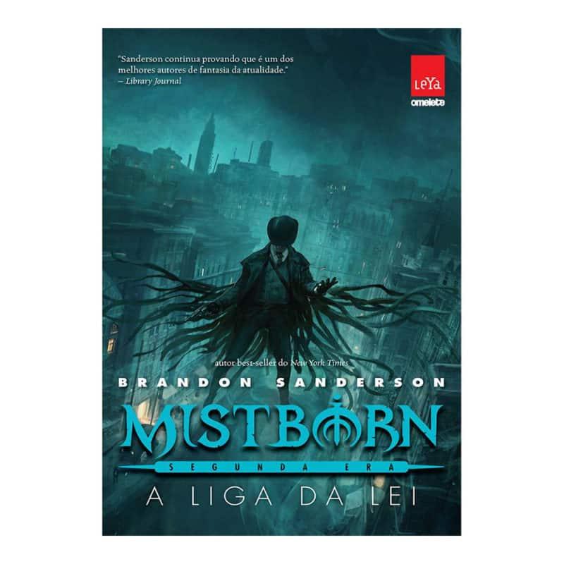 Livro Mistborn: Segunda Era: A Liga da Lei Volume 1 - Brandon Sanderson