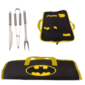 KIT Churrasco 3PCS DC Batman Logo