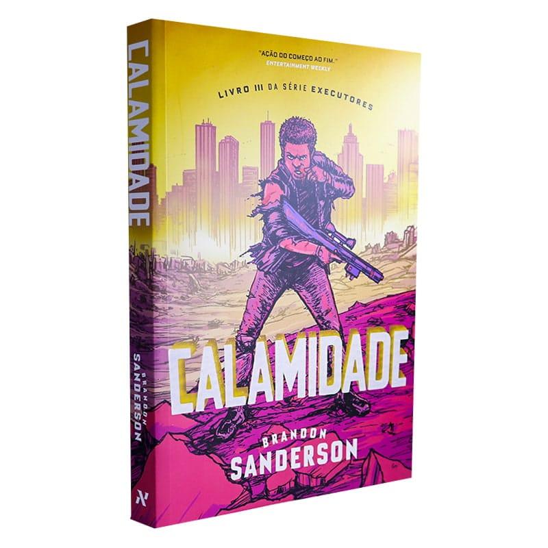 Livro Calamidade: Livro III da série Executores - Brandon Sanderson