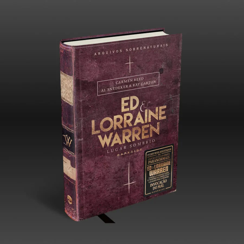 Livro Ed e Lorraine Warren: Lugar Sombrio Arquivos Sobrenaturais