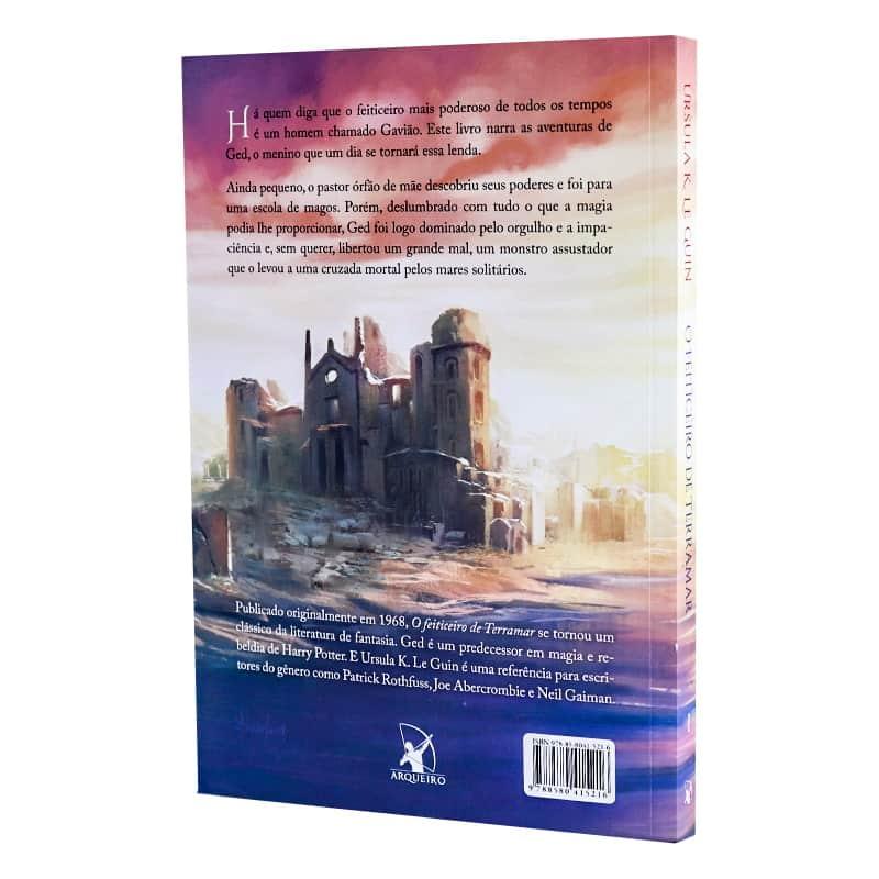 Livro O Feiticeiro de Terramar: Ciclo Terramar - Volume 1 - Ursula K. Le Guin