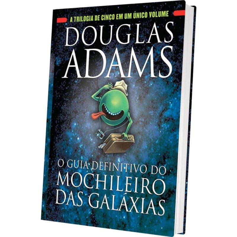 Livro O Guia Definitivo do Mochileiro das Galáxias - Douglas Adams