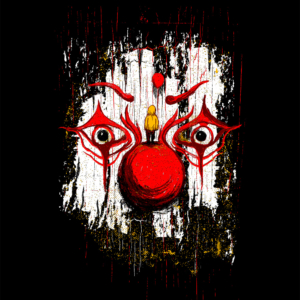 Camiseta Red Clown