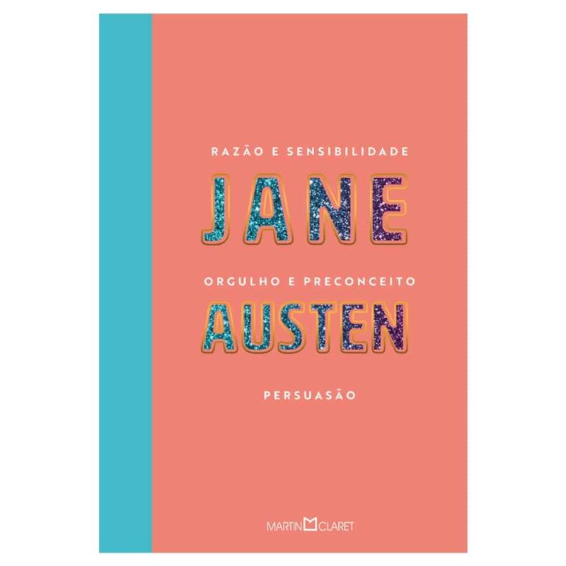 Trilogia dos livros mais famosos de Jane Austen