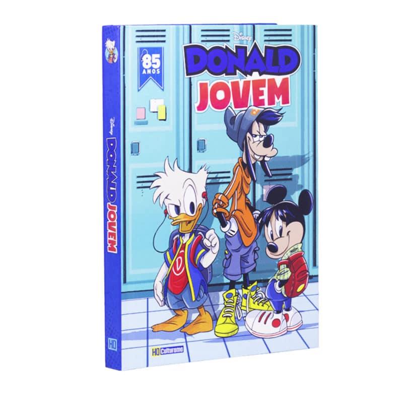 Livro em Quadrinhos Donald Jovem
