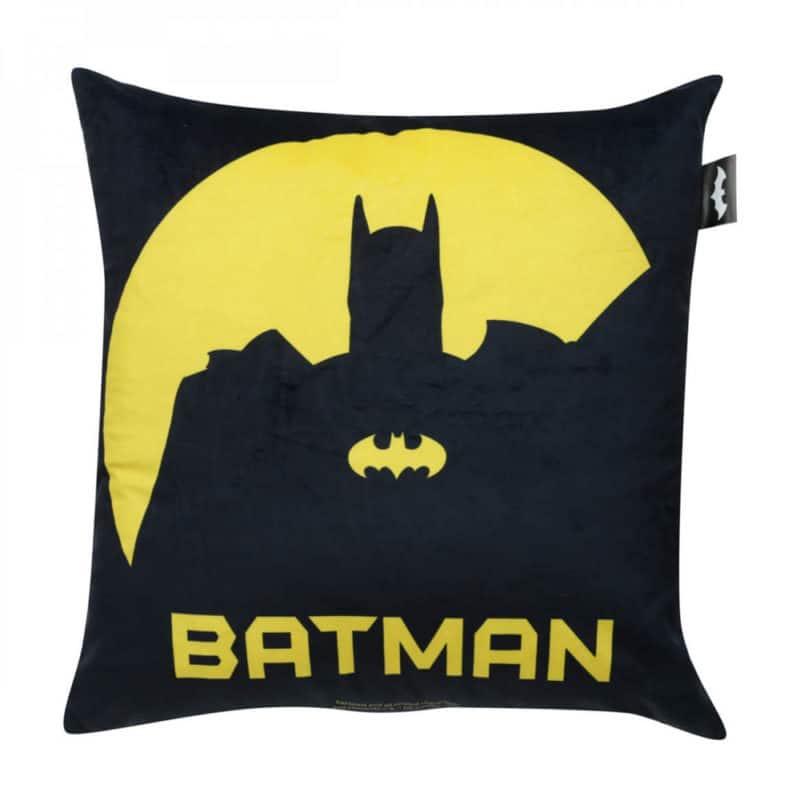 Almofada Batman - Preta e Amarela