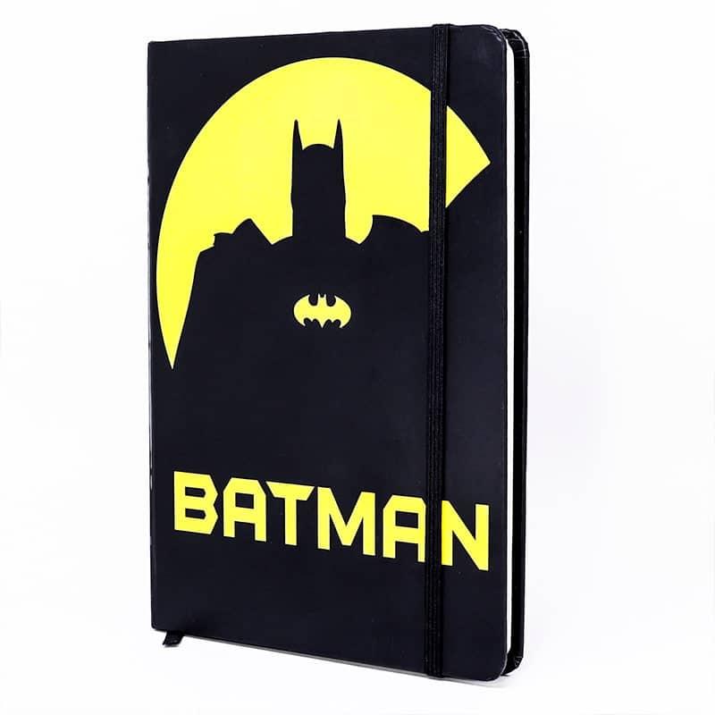 Caderneta Preta e Amarela Batman – DC Comics