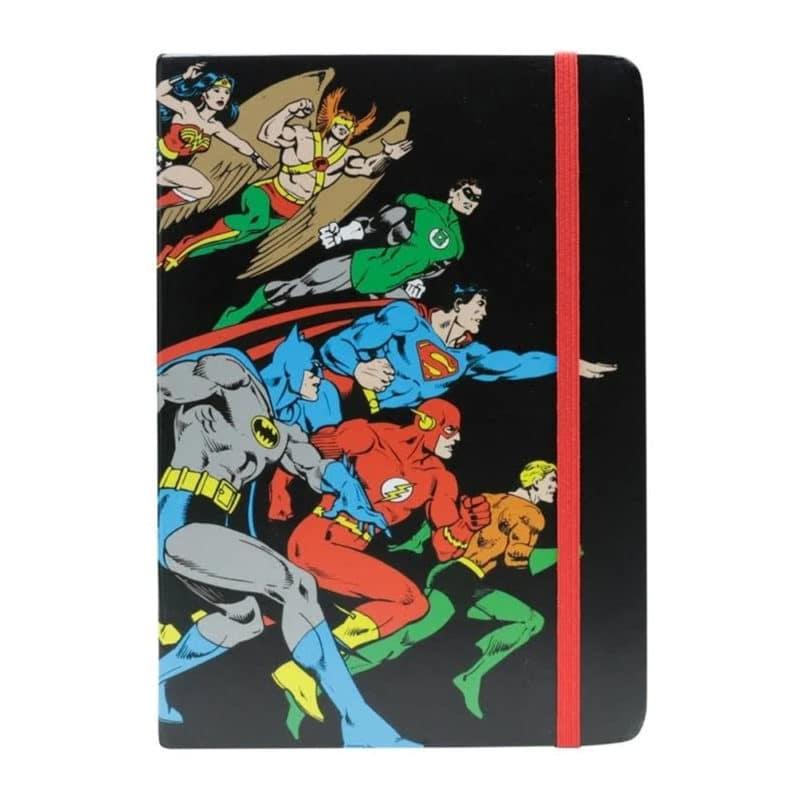 Caderneta - Liga da Justiça