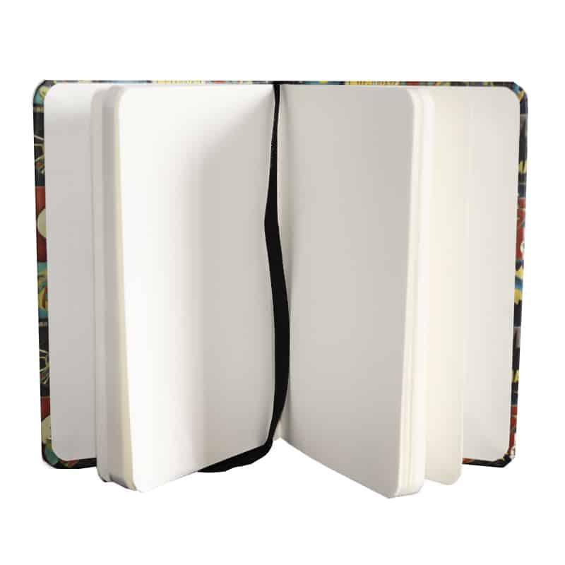 Caderneta Vintage - Liga da Justiça