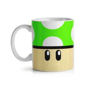 Caneca Gamer Cogumelo - 1 Up