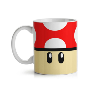Caneca Gamer Cogumelo - Grow Up