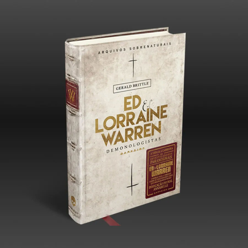 Livro Ed e Lorraine Warren: Demonologista - Gerald Brittle