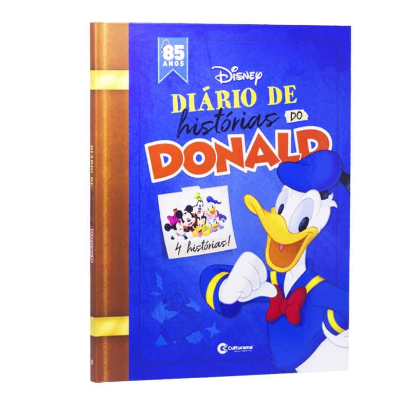 Livro em Quadrinhos Diário de Histórias do Donald