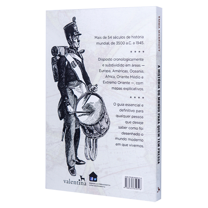 Livro A História do Mundo Para Quem Tem Pressa - Emma Marriot