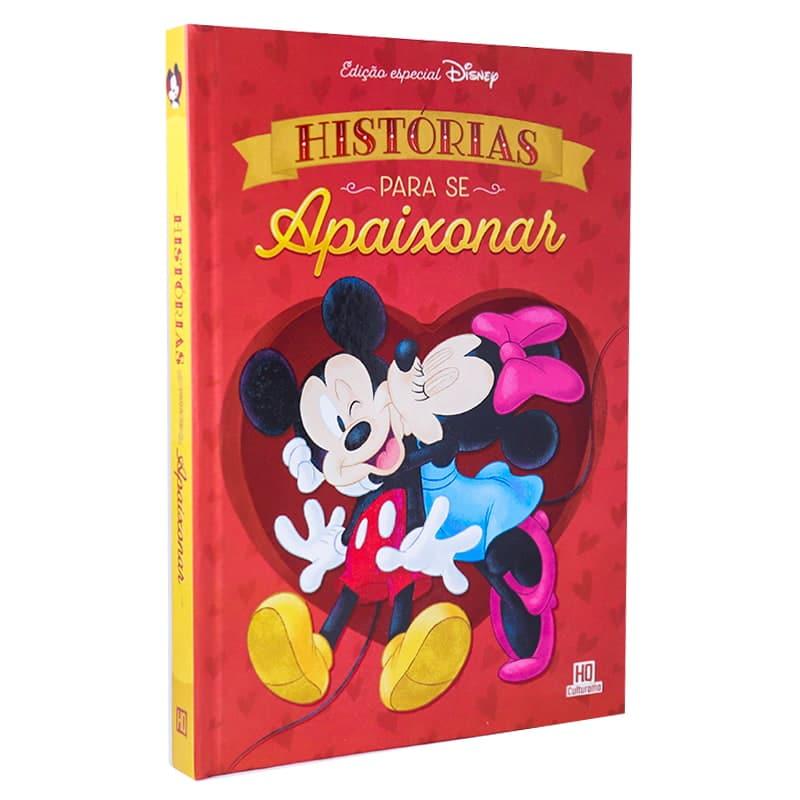 Livro Disney em Quadrinhos - Histórias para se Apaixonar