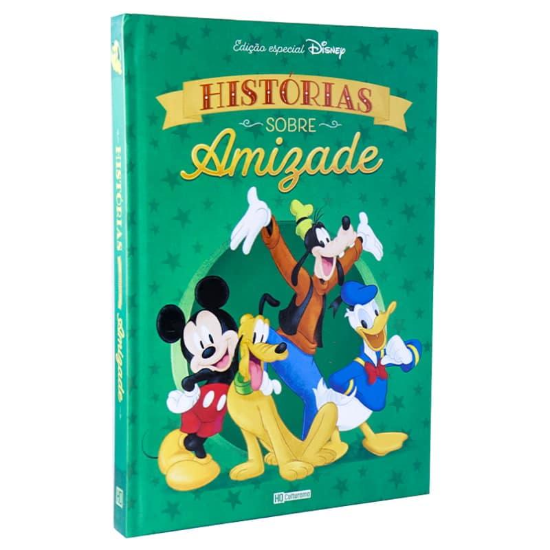 Livro Disney em Quadrinhos - Histórias sobre Amizade