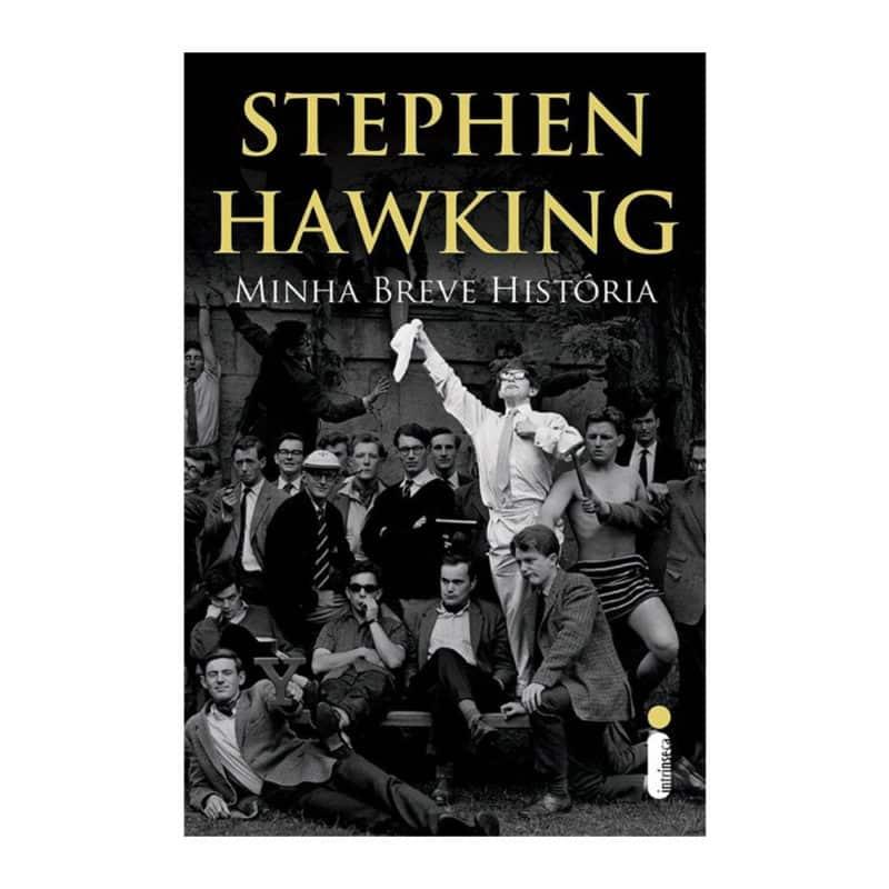 Livro Minha Breve História - Stephen Hawking