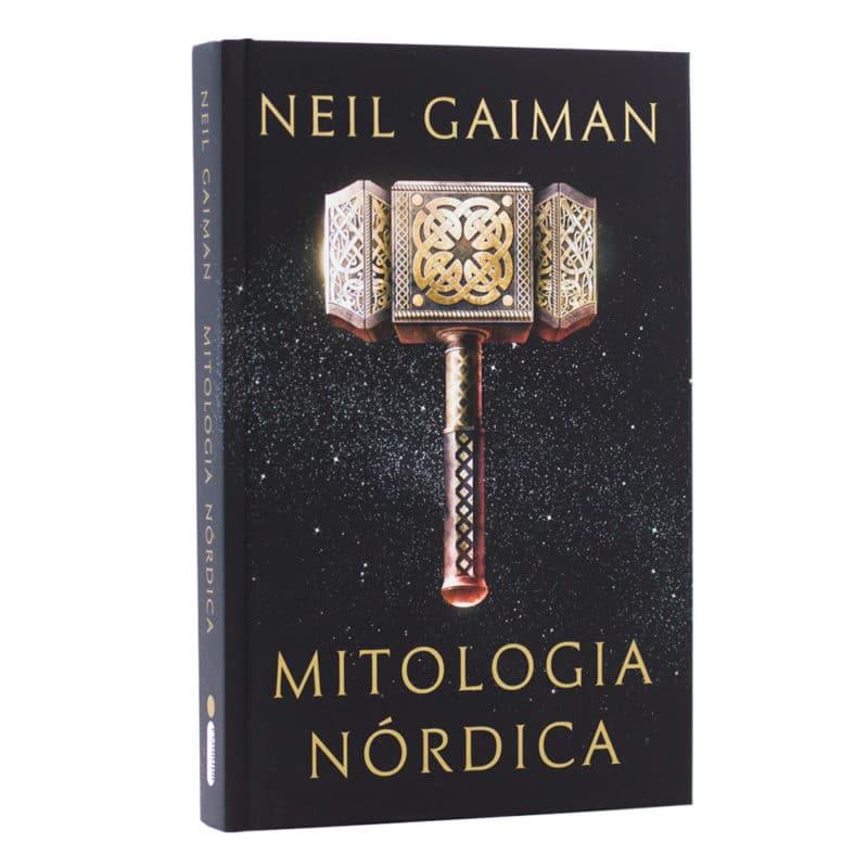 Livro Mitologia Nórdica - Neil Gaiman
