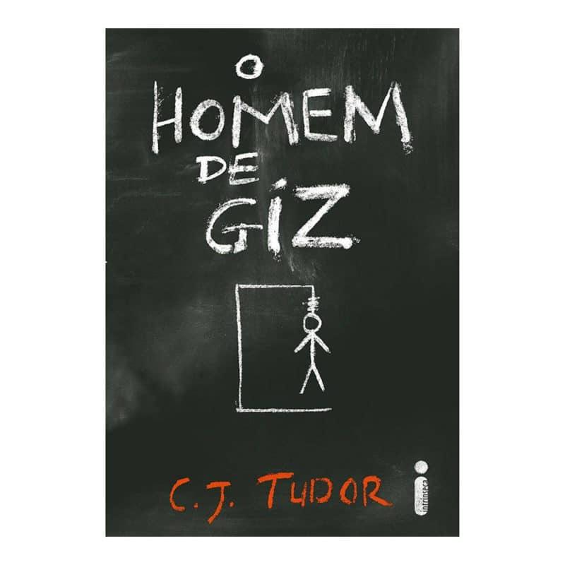 Livro O Homem de Giz - C.J. Tudor