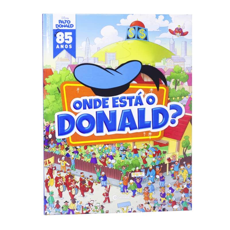 Livro Onde está o Donald?