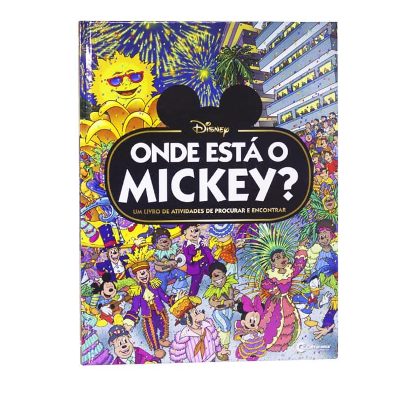 Livro Onde está o Mickey?