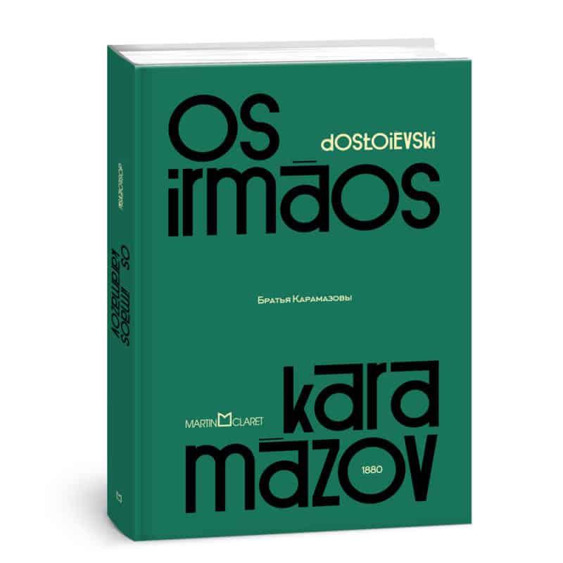 Livro Os Irmãos Karamázov - Dostoiévski