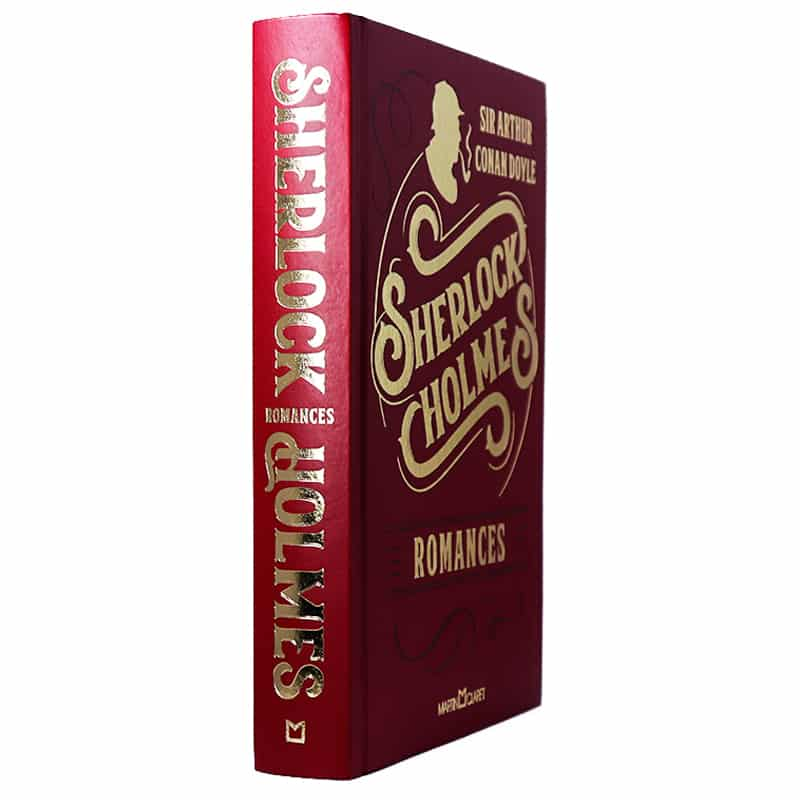 Livro Sherlock Holmes - Romances - Arthur Conan Doyle