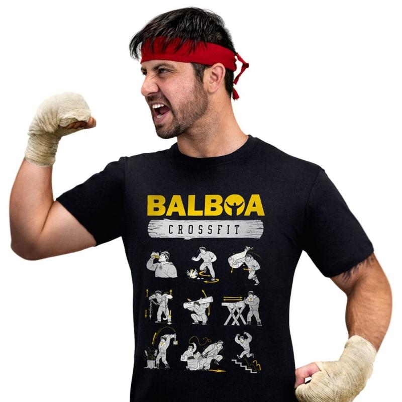 Camiseta Balboa Crossfit - Treinamento do Rocky