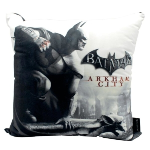 Almofada Decorativa Arkham City Batman - DC Comics