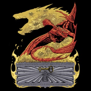 Camiseta Slim Dragon's Treasure
