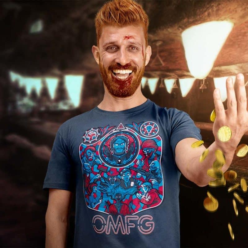 Camiseta OMFG