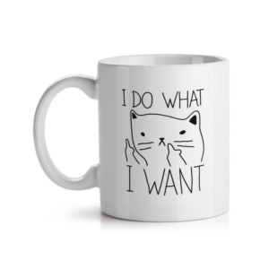 Caneca Criativa I Do What I Want