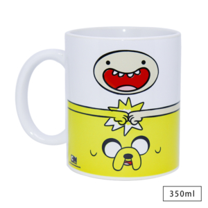Caneca Hora de Aventura Finn e Jake - Cartoon Network