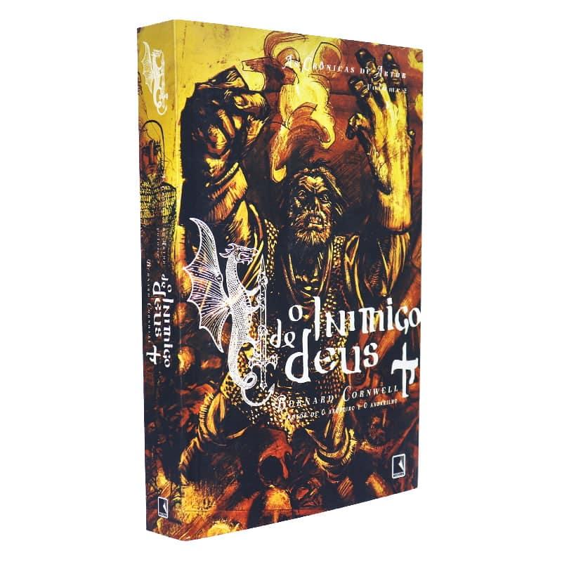 Livro O Inimigo de Deus - As Crônicas de Artur Volume 2 - Bernard Cornwell