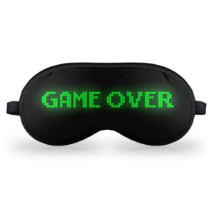 Máscara de Dormir Game Over