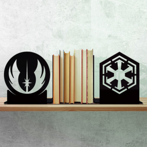 Porta Livros Preto - Darkside Vs Light