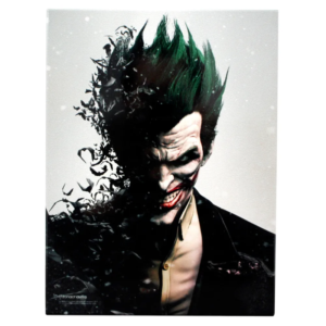 Placa de Metal Coringa - DC Comics