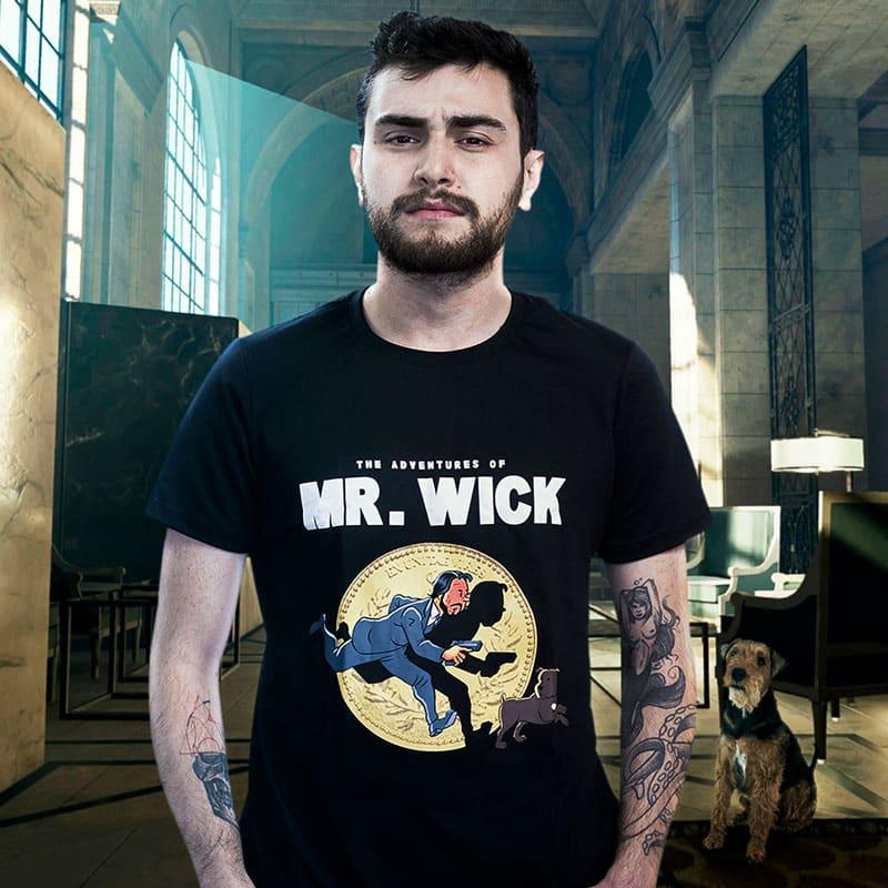 Camiseta Mr. Wick