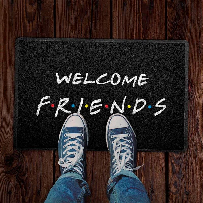 Capacho Criativo - Welcome Friends