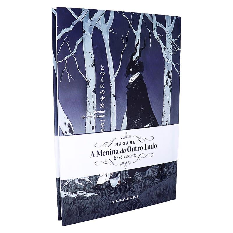 Livro A Menina do Outro Lado - Nagabe