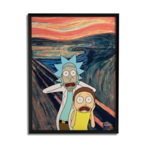 Quadro Criativo - Rick and Morty