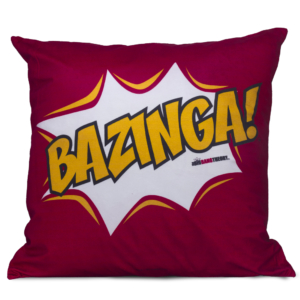 Almofada Bazinga - The Big Bang Theory