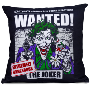 Almofada Decorativa Joker Wanted - Dc Comics