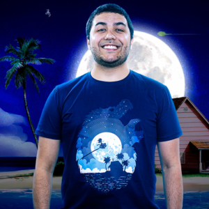 Camiseta Dragon Moon Night Edition
